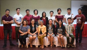 Newly Licensed Criminologists with members of the Administration and Faculty